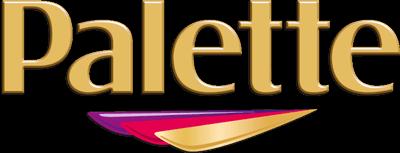 Palette Logo gold