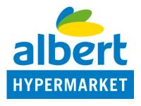 albert hypermarket logo