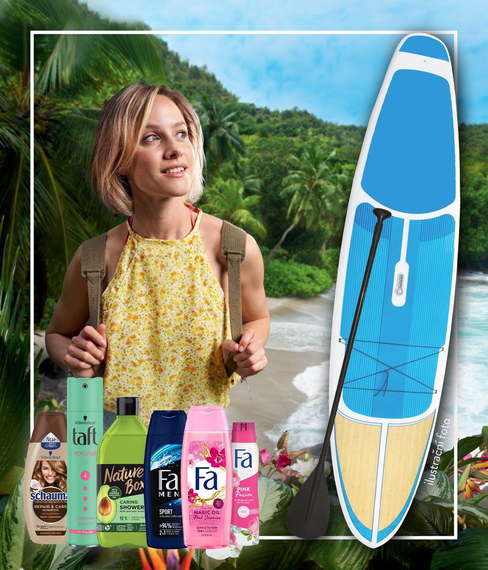 paddleboard promo mobil